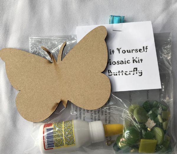 Mosaic Kit Butterfly Green